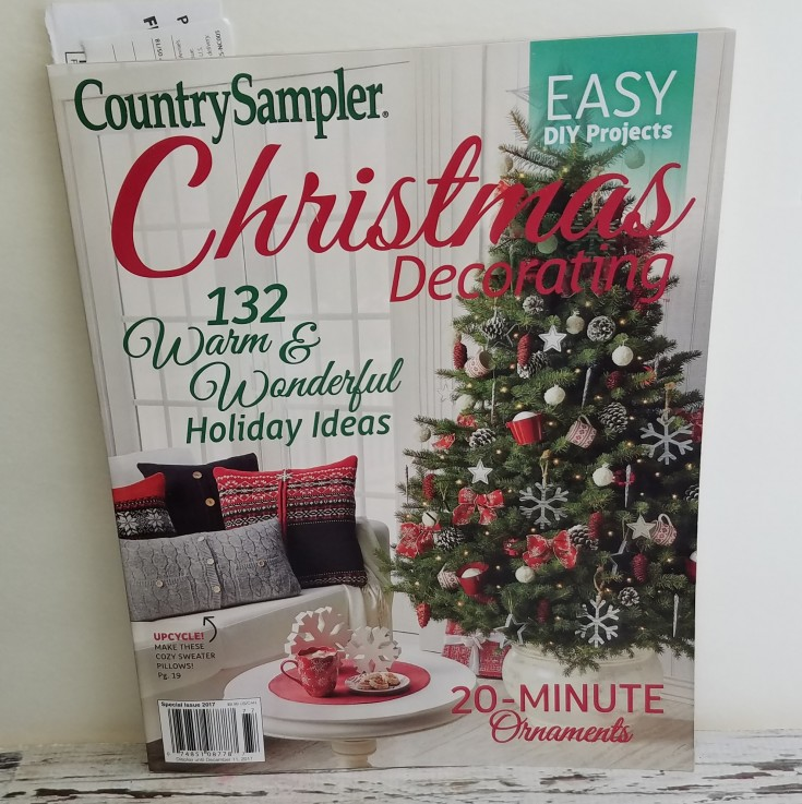 featured in country sampler christmas