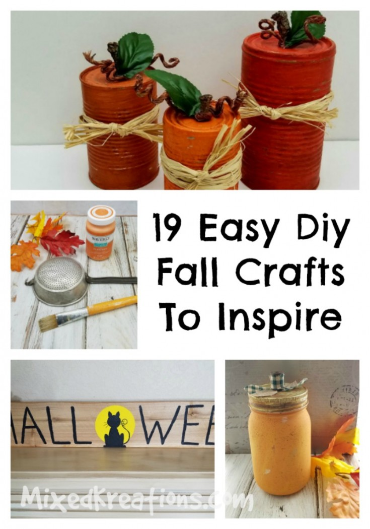 19 easy fall crafts to inspire