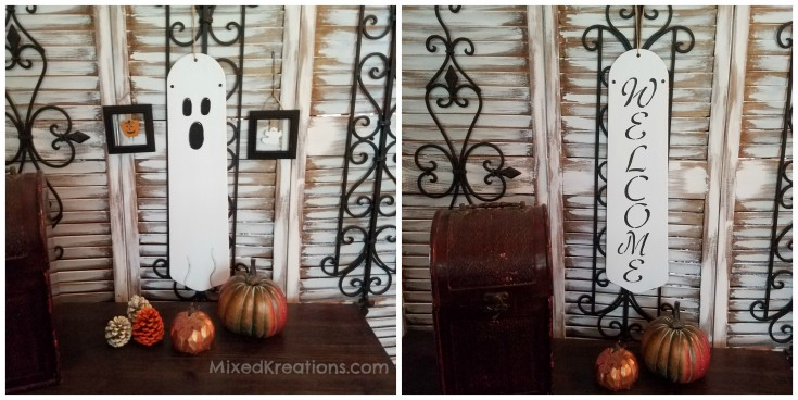 Repurposed Halloween Decor