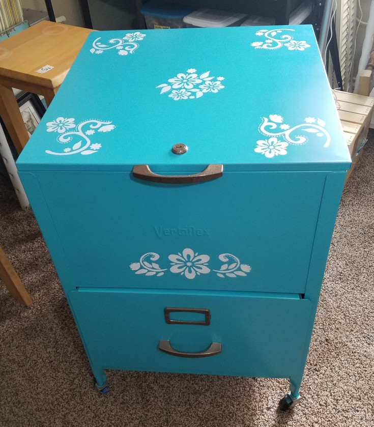 How to Update an Old File Cabinet – Fresh Look