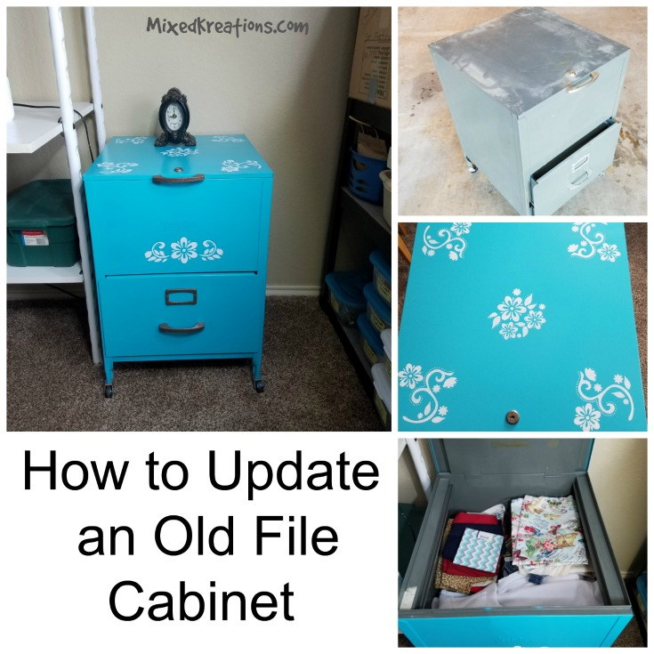How to Update an Old File Cabinet