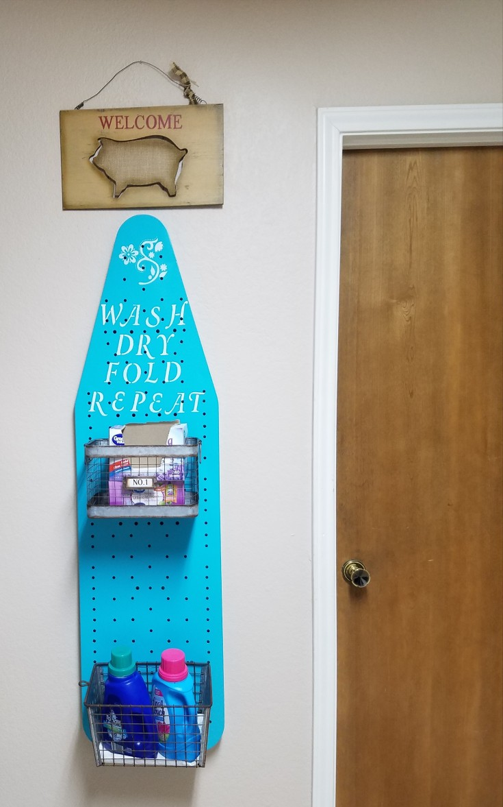 repurposed ironing board