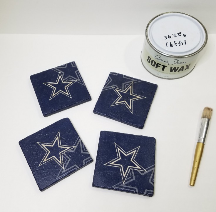 Diy Dallas Cowboys Tile Coasters