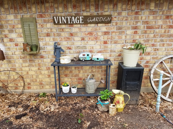 outdoors vintage garden