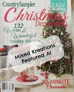 Mixed Kreations featured in Country sampler