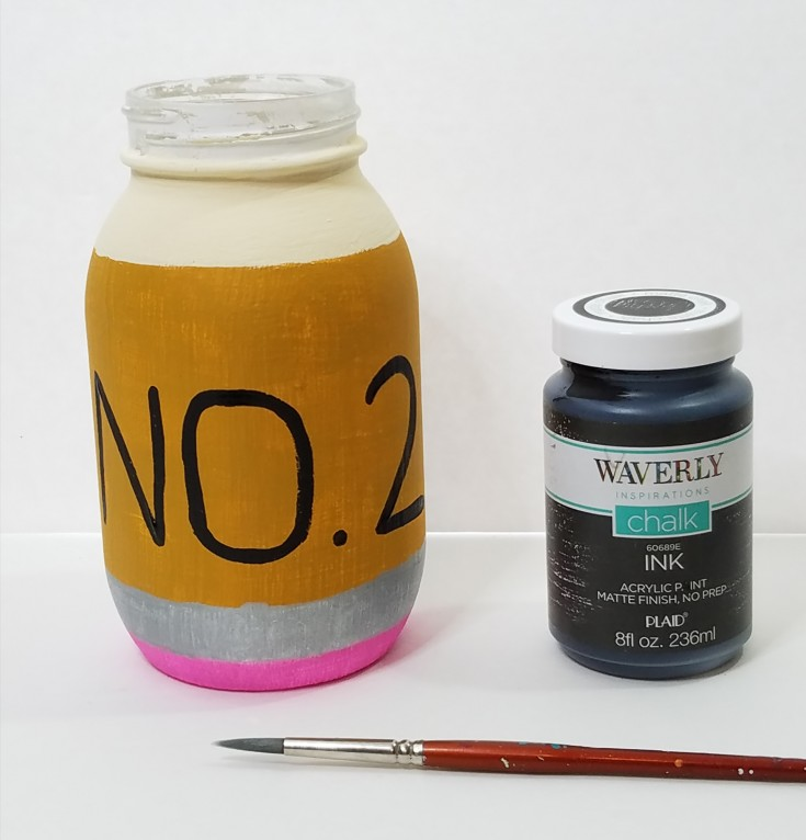 Pencil Jar Tissue Holder