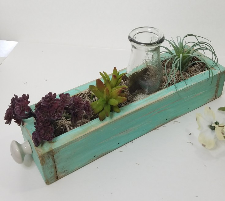Easy diy faux plant arrangement | how to make a faux plant arrangement #faux #succulents #diy #homedecor MixedKreations.com