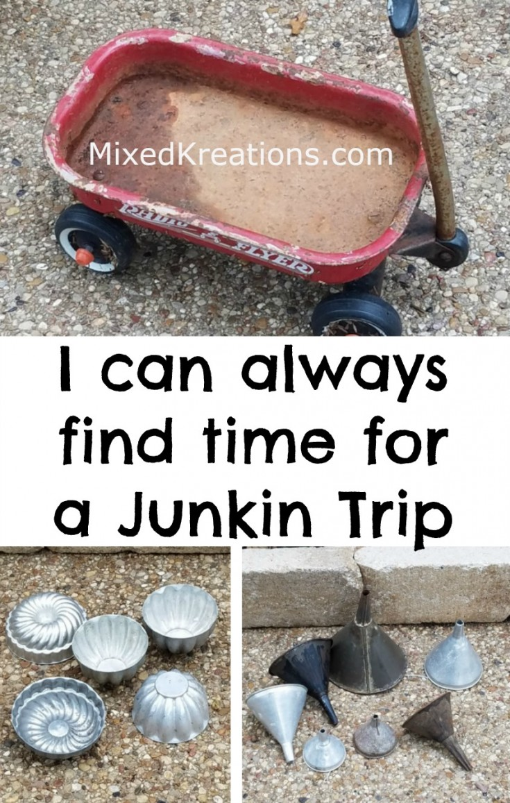 Junkin trip to antique alley #junkin #thrifting MixedKreations.com