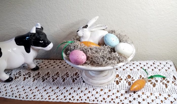 quick & easy rustic easter decor, diy easter decor