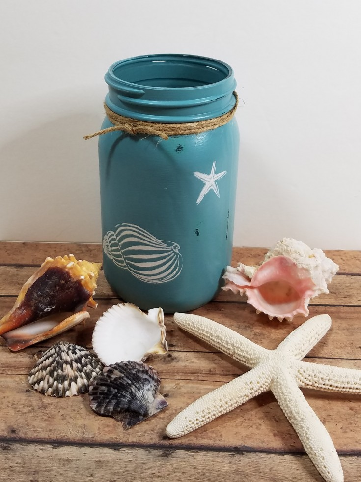 Diy Beachy Décor – Upcycled Jar