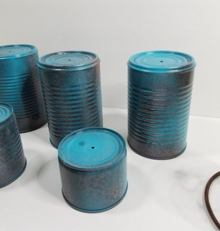 upcycling cans into wind clankers easily