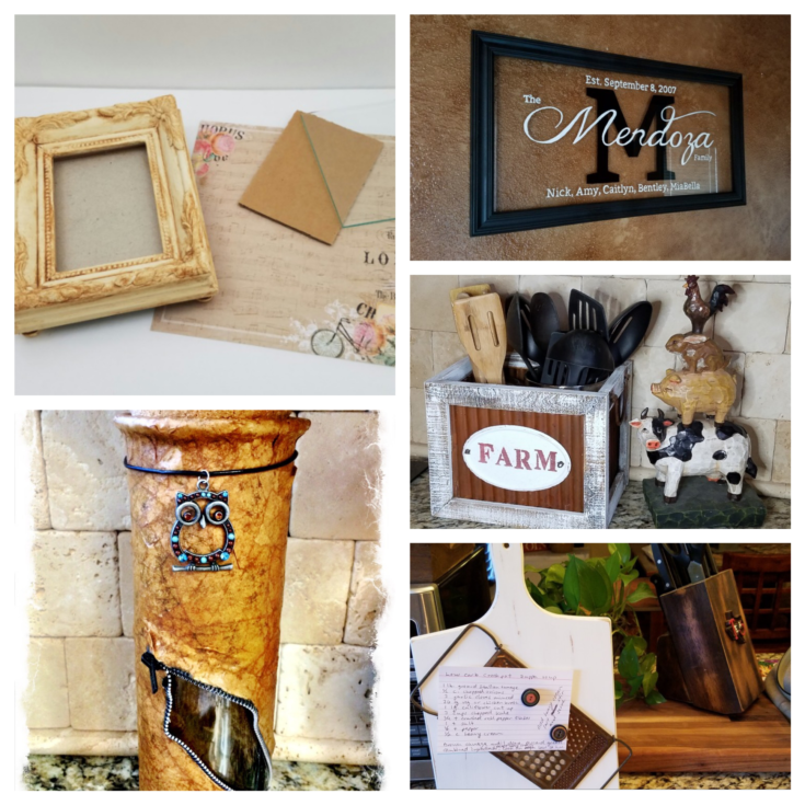 8 surprisingly easy upcycles thrift store items