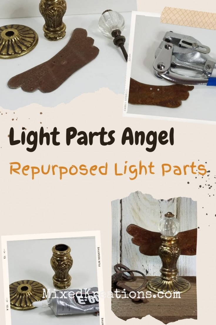 How to make a junk angel