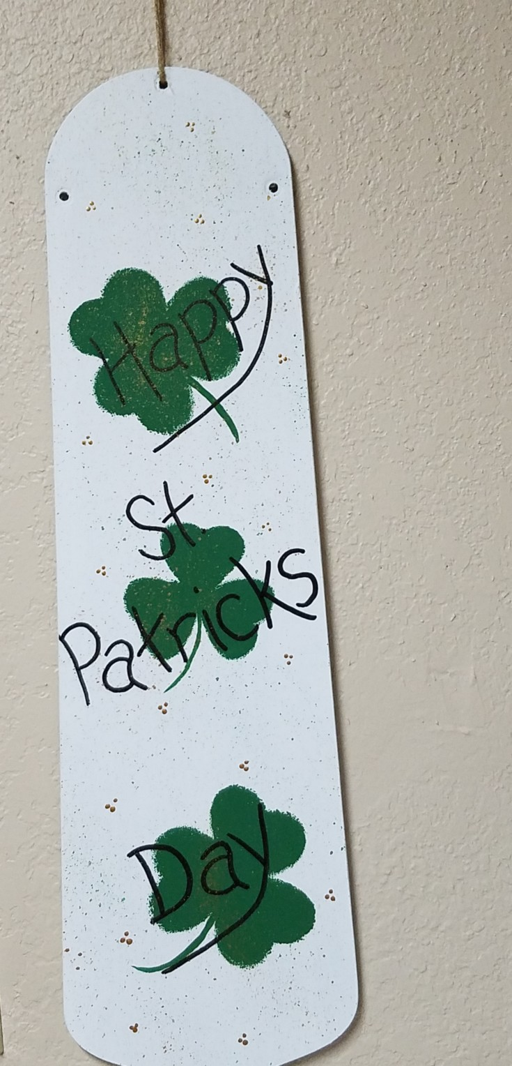 Reversible Holiday Décor Saint Patricks day