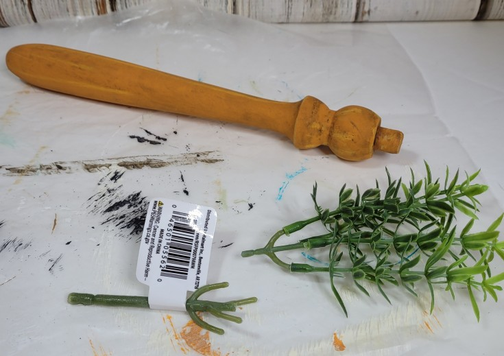 How to make wood carrot spindles