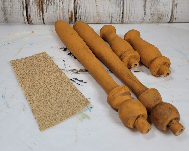 How to make wood spindle carrots