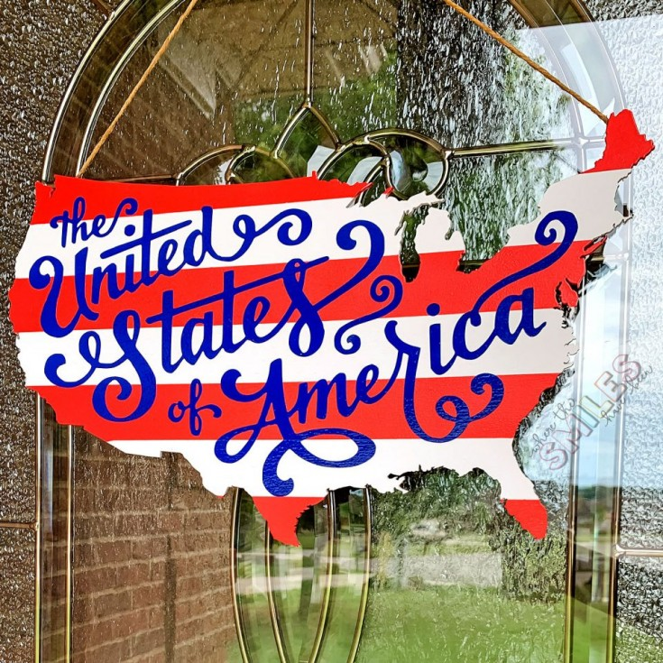 red, white, and blue patriotic projects