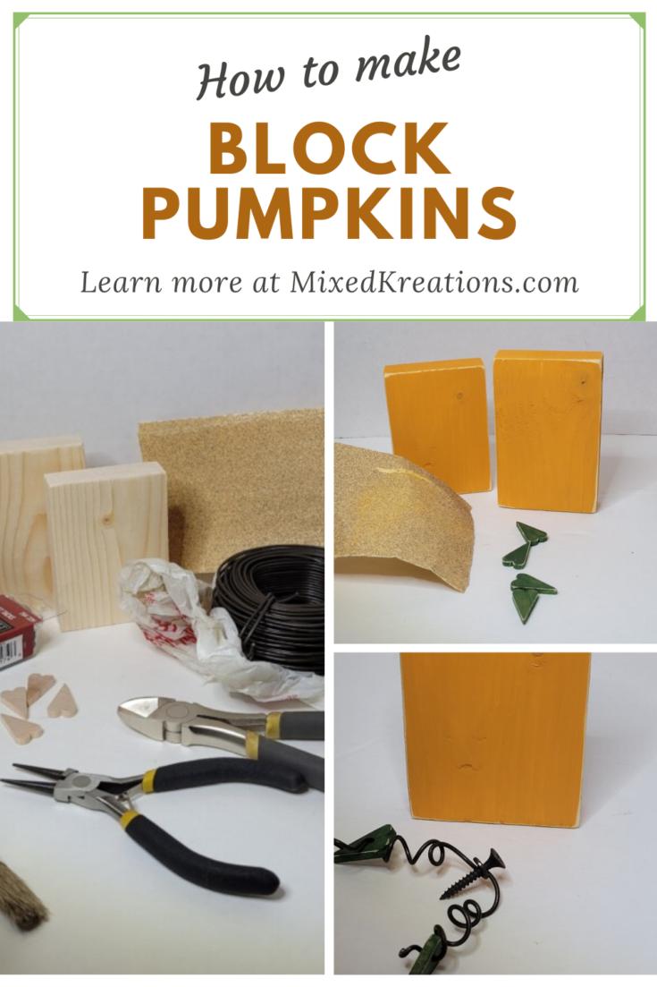 block pumpkins diy